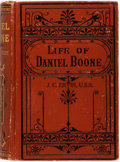 Books:Biography & Memoir, Cecil B. Hartley. Life of Daniel Boone. Philadelphia: Porter& Coates, [1865]. Ownership stamps on boards and flylea...