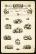 Miscellaneous:Other, A.B. & C Durand, Wright & Co. November 1825 SpecimenSheet.. ...