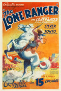 "Movie Posters:Serial, The Lone Ranger (Republic, 1938). Stock One Sheet (27.5"" X 41"").. ..."
