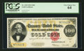 Large Size:Gold Certificates, Fr. 1215 $100 1922 Gold Certificate PCGS Very Choice New 64.. ...