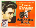 "Movie Posters:Elvis Presley, Jailhouse Rock (MGM, 1957). Half Sheet (22"" X 28"") Style A.. ..."