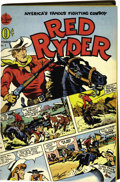 Golden Age (1938-1955):Western, Red Ryder Comics #1 and 3-13 Bound Volume (Dell, 1940-43). Thefirst meeting of Red and his sidekick Little Beaver, beautifu...