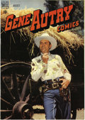 Golden Age (1938-1955):Western, Gene Autry Comics Group (Dell, 1948-55) Condition: Average VF/NM.Issues #18 (VF/NM), 21 (VG+), 22 (NM-), 28 (NM-), 34 (VF/N...(Total: 18 Comic Books)