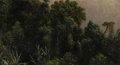 Fine Art - Painting, American:Antique  (Pre 1900), MARTIN JOHNSON HEADE (American 1819 - 1904). Forest Study, Brazil, circa 1864. Oil on paper board mounted on canvas. 11-...
