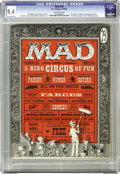 Magazines:Mad, Mad #29 (EC, 1956) CGC NM 9.4 Off-white pages. Two titans of Madbegan their careers on the magazine here, Al Feldstein ...