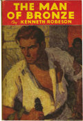 "Books:First Editions, Kenneth Robeson - Group of 2 Doc Savage Hardcover Novels (Streetand Smith, 1933) Condition: GD. ""The Man of Bronze"" and ""Th..."