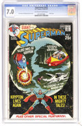 Bronze Age (1970-1979):Superhero, Superman #232 (DC, 1971) CGC FN/VF 7.0 Off-white to white pages. All Krypton issue. Also known as 80 Page Giant G-78. Cu...