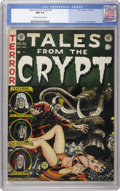 Golden Age (1938-1955):Science Fiction, Tales From the Crypt #32 (EC, 1952) CGC NM 9.4 Cream to off-white pages. The distinctive style of Jack Davis graces this cir...