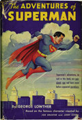 Books:First Editions, The Adventures of Superman by George Lowther (Random House, 1942).A 215-page hardcover novel featuring original, early adve...