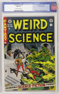 Golden Age (1938-1955):Horror, Weird Science #22 Gaines File pedigree 4/11 (EC, 1953) CGC NM 9.4 .This last issue (before the series was combined with its...