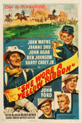 "Movie Posters:Western, She Wore a Yellow Ribbon (RKO, 1949). One Sheet (27.25"" X 41"")....."