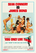 """Movie Posters:James Bond, You Only Live Twice (United Artists, 1967). One Sheet (27.5"""" X 41"""") Style C.. ..."""