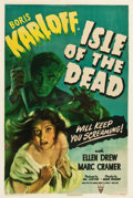 "Movie Posters:Horror, Isle of the Dead (RKO, 1945). One Sheet (27.5"" X 40.75"").. ..."