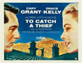 "Movie Posters:Hitchcock, To Catch a Thief (Paramount, 1955). Half Sheet (22"" X 28"") StyleB.. ..."