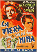 "Movie Posters:Comedy, Bringing Up Baby (RKO, 1938). Spanish One Sheet (25"" X 34.75"")....."