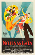 "Movie Posters:Musical, Syncopation (RKO, 1929). Swedish One Sheet (27.25"" X 39.5"").. ..."