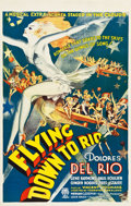 "Movie Posters:Musical, Flying Down to Rio (RKO, R-Late 1930s-Early 1940s). Canadian OneSheet (26.25"" X 41.5"").. ..."