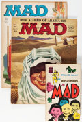 Magazines:Mad, Mad Group (EC, 1964-73) Condition: Average VG.... (Total: 39 ComicBooks)