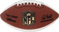 Football Collectibles:Balls, Pro Football Hall of Famers and Greats Multi Signed Football....