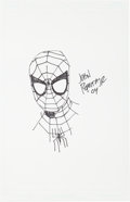 Original Comic Art:Sketches, John Romita, Jr. Spider-Man Sketch Original Art (2004). . ...