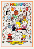 Memorabilia:Poster, Peanuts: A Celebration Limited Edition Proof Card Poster#686/2500 (United Feature Syndicate, 1995).... (Total: 3 Items)