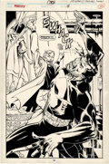 Original Comic Art:Splash Pages, Bill Reinhold and Mark Farmer - Punisher #30, Splash Page 16Original Art (Marvel, 1990)....