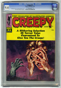 Creepy #24 (Warren, 1968) CGC NM 9.4 Off-white to white pages