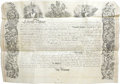 Autographs:Inventors, Official British Patent Documents in Box from Her Majesty's PatentOffice,...