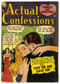 Golden Age (1938-1955):Romance, Actual Confessions #13 (Atlas, 1952) Condition: GD....