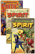 Modern Age (1980-Present):Miscellaneous, The Spirit Group (Super/Kitchen Sink, 1963-85) Condition: Average NM.... (Total: 8 Comic Books)