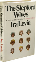 Books:Signed Editions, Ira Levin: Signed First Edition of The Stepford Wives (NewYork: Random House, 1972), first edition, 145 pages, dark gra...(Total: 1 Item)