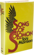 Books:Signed Editions, Toni Morrison: Signed First Edition of Song of Solomon (New York: Alfred A. Knopf, 1977), first edition, 337 pages, blac... (Total: 1 Item)