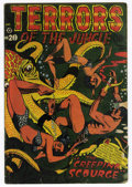 Golden Age (1938-1955):Horror, Terrors of the Jungle #20 (Star, 1952) Condition: GD....