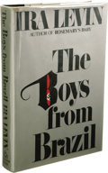 Books:Signed Editions, Ira Levin: Signed First Edition of The Boys from Brazil (NewYork: Random House, 1977), first edition, 312 pages, light ...(Total: 1 Item)