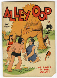 Four Color #3 Alley Oop (Dell, 1942) Condition: GD
