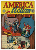 Golden Age (1938-1955):Non-Fiction, America in Action 1 (1945) Carson City Pedigree (Dell, 1945)Condition: VF/NM....