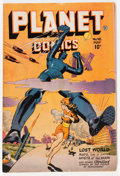 Golden Age (1938-1955):Science Fiction, Planet Comics #48 (Fiction House, 1947) Condition: FN-....