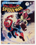 Magazines:Superhero, Spectacular Spider-Man #2 Signed by John Romita Sr. (Marvel, 1968)Condition: FN/VF....