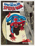 Magazines:Superhero, Spectacular Spider-Man #1 Signed by John Romita Sr. (Marvel, 1968)Condition: VF....
