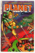 Golden Age (1938-1955):Science Fiction, Planet Comics #71 (Fiction House, 1953) Condition: VG+....