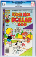 Modern Age (1980-Present):Humor, Richie Rich and Dollar the Dog #13 File Copy (Harvey, 1980) CGC NM+9.6 White pages....