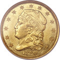 Early Quarter Eagles, 1830 $2 1/2 MS62 NGC. BD-1, R.4....