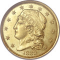 Early Quarter Eagles, 1832 $2 1/2 MS61 NGC. BD-1....