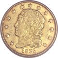 Early Quarter Eagles, 1829 $2 1/2 -- Rim Filed, Damaged -- NCS. XF Details. BD-1, HighR.4....