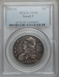 Bust Half Dollars: , 1819/8 50C Small 9 VF30 PCGS. PCGS Population (6/188). NGC Census:(8/281). Numismedia Wsl. Price for problem free NGC/PCG...