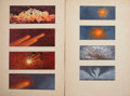Movie/TV Memorabilia:Original Art, Meteor Storyboard Drawings by Edward Carfagno.... (Total: 2Items)