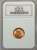 Lincoln Cents: , 1936 1C MS67 Red NGC. NGC Census: (635/1). PCGS Population (218/0).Mintage: 309,637,568. Numismedia Wsl. Price for problem...