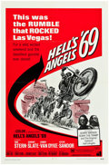 """Movie Posters:Exploitation, Hell's Angels '69 (American International, 1969). One Sheet (27"""" X41"""") & Lobby Card Set of 8 (11"""" X 14"""").. ... (Total: 9 Items)"""