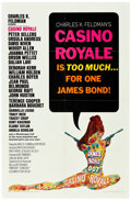 "Movie Posters:James Bond, Casino Royale (Columbia, 1967). One Sheet (27"" X 41"") & LobbyCard Set of 8 (11"" X 14"").. ... (Total: 9 Items)"