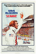 """Movie Posters:Sports, Le Mans (National General, 1971). One Sheet (27"""" X 41"""") & Pressbook (18 Pages, 8.5"""" X 14"""").. ... (Total: 2 Items)"""